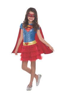 Rubies Supergirl Sequin Tutu Costume - 294796