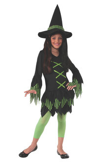 Rubies Lime Witch Costume - 294847
