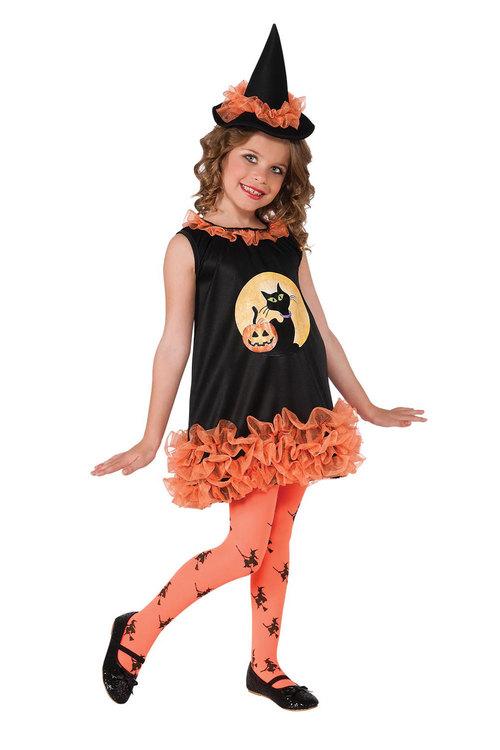 Rubies Orange Tutu Witch Costume