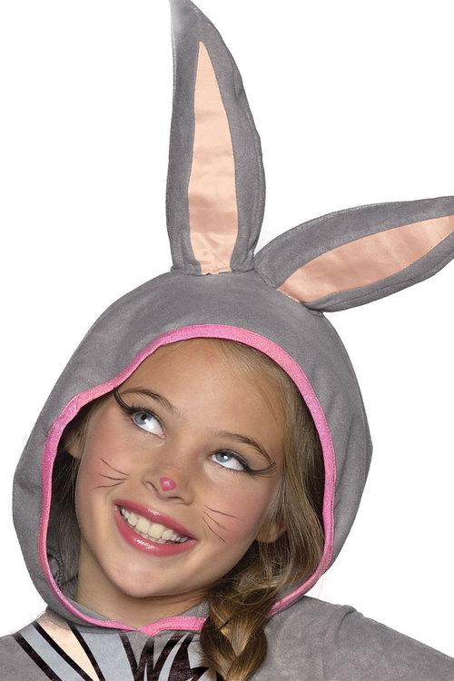 Rubies Bugs Bunny Girls Hooded Costume