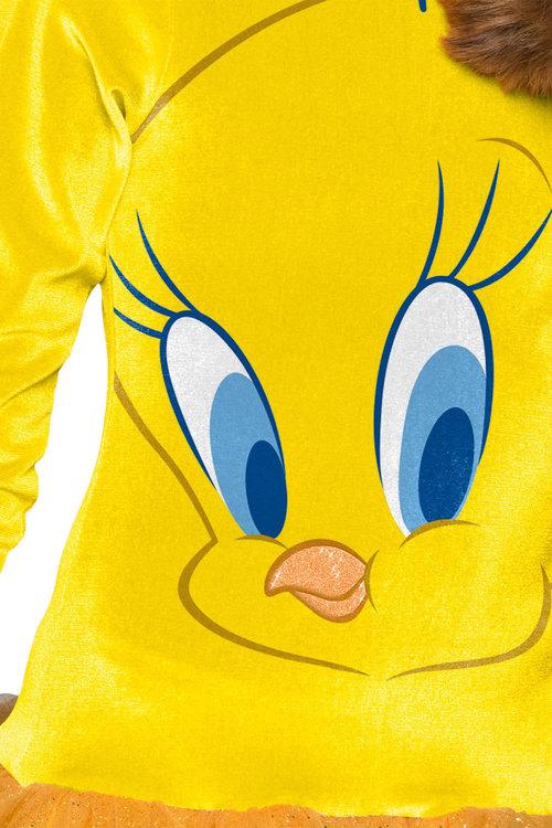 Rubies Tweety Girls Hooded Costume