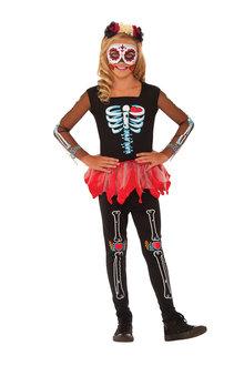 Rubies Scared To The Bone Skeleton Costume - 294877