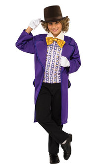 Rubies Willy Wonka Deluxe Costume - 294920