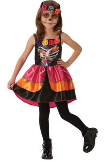 Rubies Sugar Skull Day Of The Dead Costume - 294937