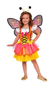 Rubies Glittery Orange Butterfly - 294955