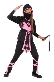 Rubies Pink Crystal Ninja Costume - 294957