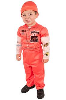 Rubies Muscle Man Prisoner Deluxe Costume - 294958