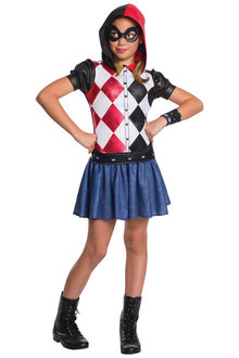 Rubies Harley Quinn DCSHG Hoodie Costume - 294991