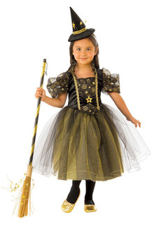 Rubies Golden Star Witch Costume - 294995