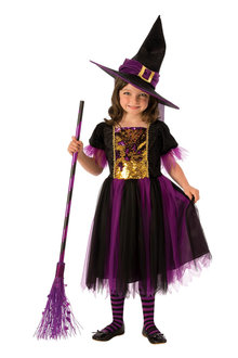 Rubies Colour Magic Witch Costume - 294997