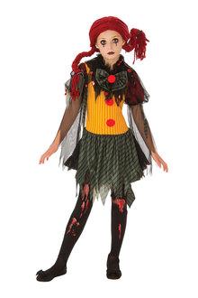 Rubies Zombie Girl Clown Costume - 295006