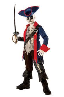 Rubies Captain Bones Pirate Costume - 295011