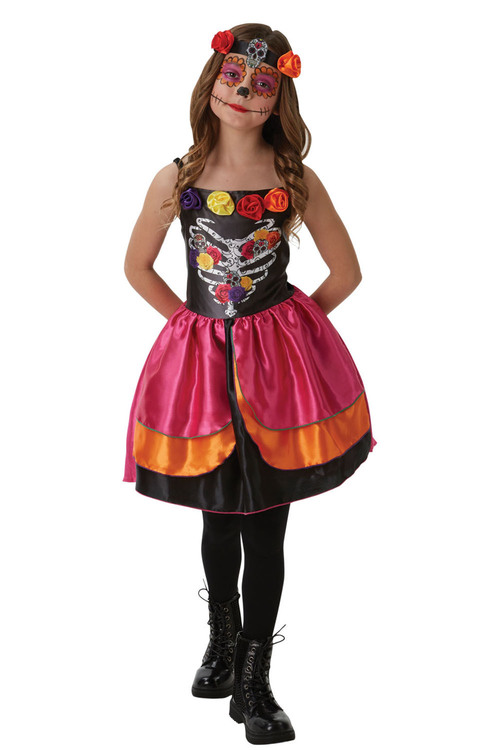 Rubies Sugar Skull Day Of The Dead Costume