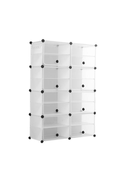 Levede 2 Column 8 Row Shoes Cabinet