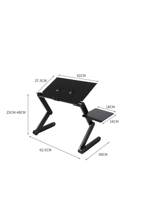 Levede Portable Computer Desk with Mouse Pad and Fan