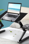 Levede Portable Computer Desk with Mouse Pad