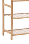 Levede 5 Tier 70cm Wooden Bamboo Shoe Rack