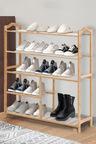 Levede 5 Tier Wooden Shoe Rack