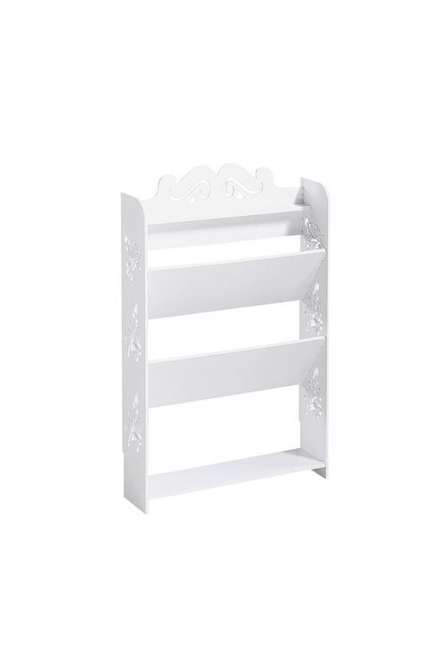 Levede 4 Tier 12 Pairs Width Chic Hollow Out Shoe Rack