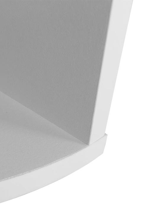 Levede 5 Tier Coner Wall Shelf