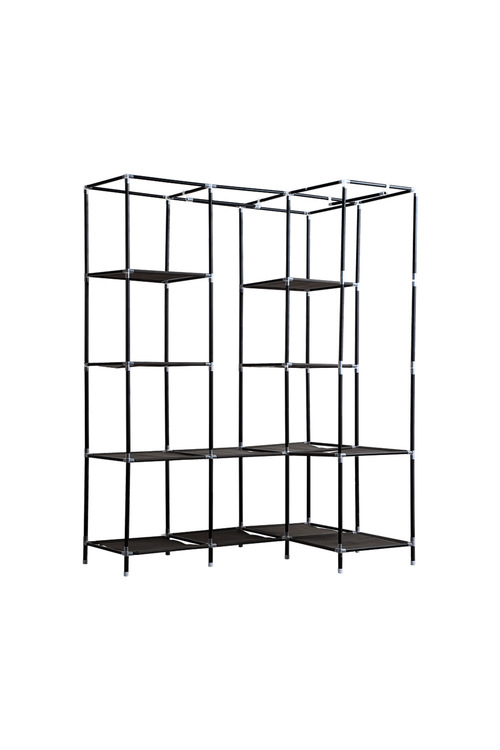 Levede Portable Wardrobe with Shelves
