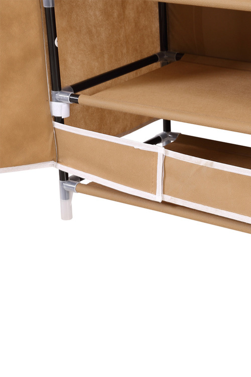 Levede 10 Tier Shoe Rack Cloth Rack with 2 Magnetic Doors