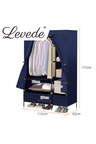 Levede Portable Wardrobe with 3 Drawer