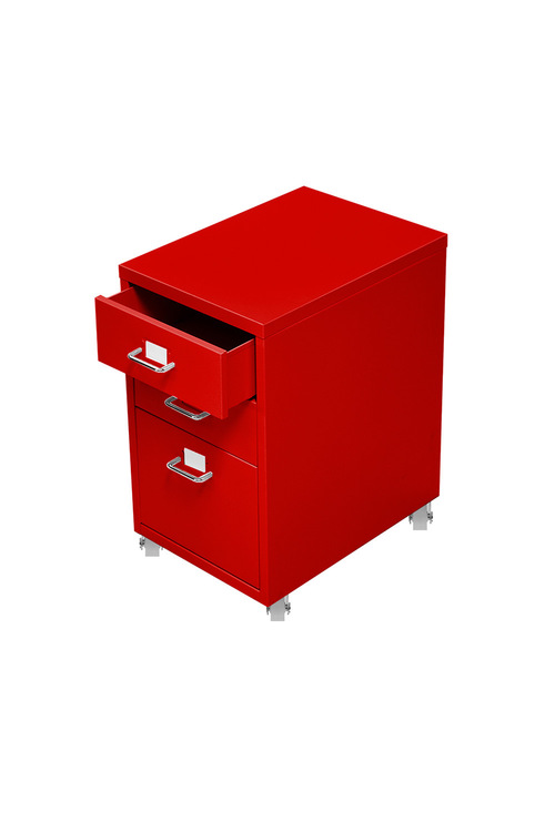 Levede Steel 3 Drawers Office Furniture