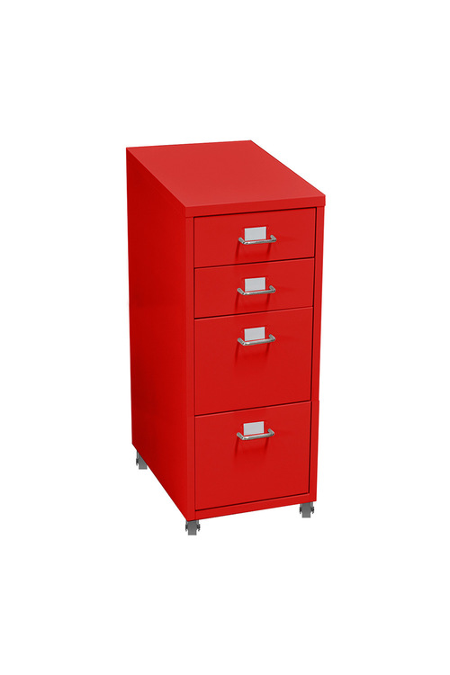 Levede Steel 4 Drawers Office Furniture