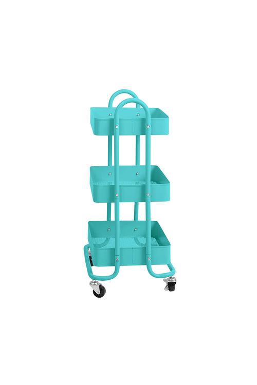 Levede 3 Tiers Storage Trolley