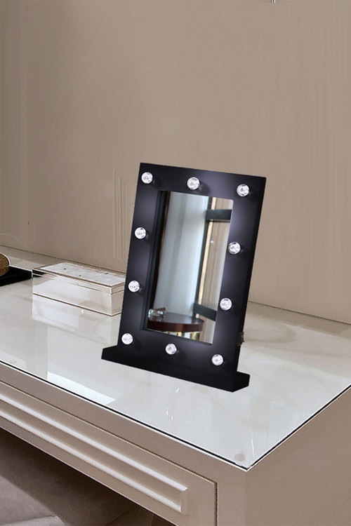 Levede Hollywood Style Table Top Dressing Makeup Vanity Mirror with 10
