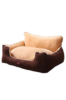 Paws Pet Deluxe Soft Cushion with High Back Support - 295421