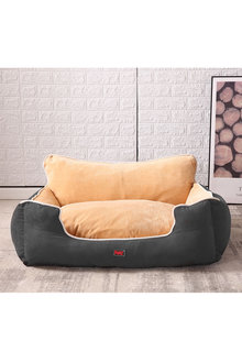 Paws Pet Deluxe Soft Cushion with High Back Support 120cm - 295422