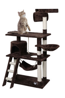 Paws Cat Scratching Tree Gym House - 295432