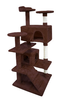 Paws Cat Scratching Tree Gym House 1.3M - 295434