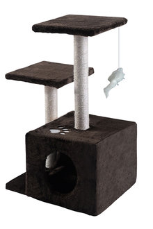 Paws Cat Scratching Tree Gym House 0.7M - 295435