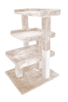 Paws Cat Scratching Tree Gym House 0.84M - 295436