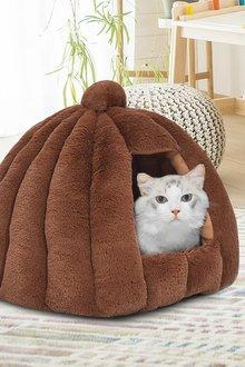 Paws Tent Shape Cat House - 295460