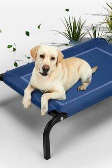 Paws Outdoor Pet Trampoline Bed 116cmx76cmx15cm - 295479