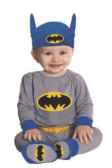 Rubies Batman Onesie Grey/Blue Costume Child - 295535