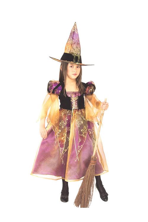 Rubies Long Elegant Witch