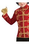 Rubies Michael Jackson Red Military Jacket