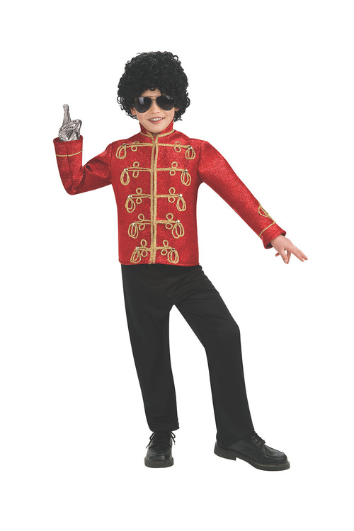 Rubies Michael Jackson Deluxe Red Military Jacket