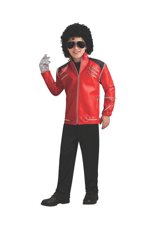 Rubies Michael Jackson Deluxe Beat It Red Jacket