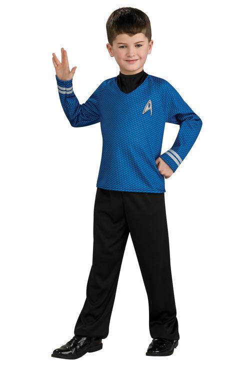 Rubies Star Trek Blue Shirt