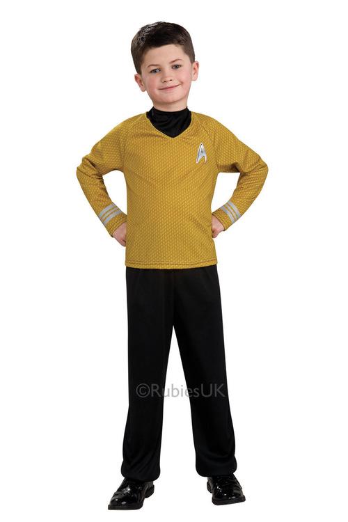 Rubies Star Trek Gold Shirt
