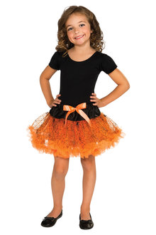 Rubies Orange Halloween Tutu - 295696