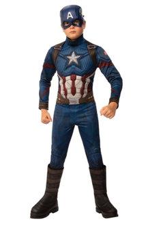 Rubies Captain America Deluxe AVG4 Costume - 295707