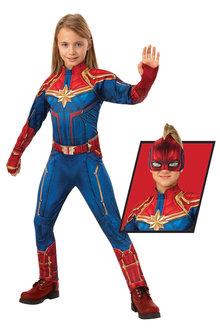 Rubies Captain Marvel Deluxe Hero Suit - 295713