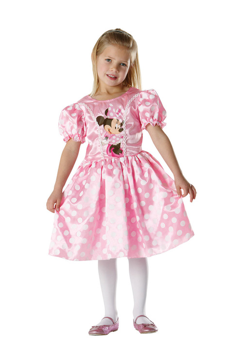 Rubies Minnie Mouse Classic Pink Costume